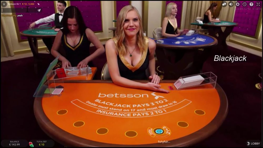 Betsson Live Casino Dealer