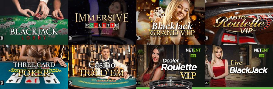 CasinoCruise Live Dealer