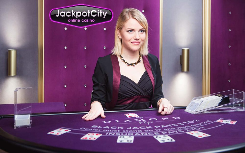 Jackpot city live dealer casino
